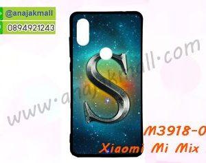 M3918-08 เคสยาง Xiaomi Mi Mix 2s ลาย Super S