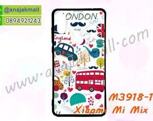 M3918-10 เคสยาง Xiaomi Mi Mix 2s ลาย London