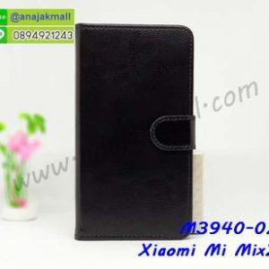 M3940-02 เคสฝาพับไดอารี่ Xiaomi Mi Mix2s สีดำ