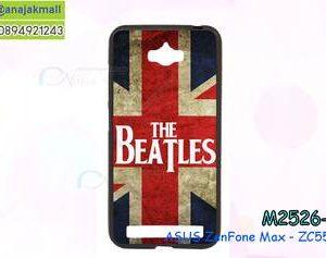 M2526-34 เคสยางดำ ASUS ZenFone Max (ZC550KL) ลาย The Beatles