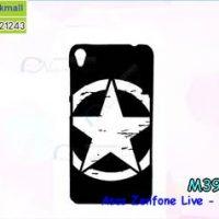 M3915-08 เคสแข็งดำ Asus Zenfone Live-ZB501KL ลาย CapStar X22