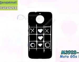 M3928-06 เคสแข็งดำ Moto G5s Plus ลาย OXs-11