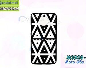 M3928-08 เคสแข็งดำ Moto G5s Plus ลาย Graphic X22