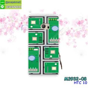 M3932-08 เคสแข็ง HTC 10 ลาย Circuit