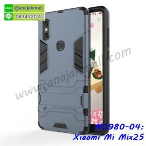 M3980-04 เคสโรบอท Xiaomi Mi Mix2s กันกระแทก สีดำนาวี