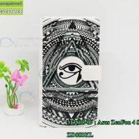 M3805-09 เคสฝาพับ Asus Zenfone4 Selfie-ZD553KL ลาย Black Eye