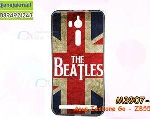 M3907-10 เคสยาง Asus ZenFone Go-ZB552KL ลาย The Beatles