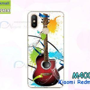 M4006-04 เคสแข็ง Xiaomi Redmi Note 5 ลาย Guitar