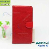 M4012-01 เคสฝาพับไดอารี่ Xiaomi Mi5s สีแดง