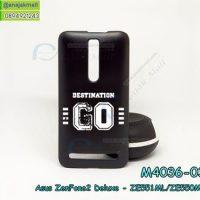 M4036-03 เคสแข็งดำ ASUS ZenFone2 Deluxe-ZE551ML/ZE550ML ลาย GO X01