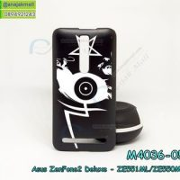 M4036-05 เคสแข็งดำ ASUS ZenFone2 Deluxe-ZE551ML/ZE550ML ลาย Black Eye 02