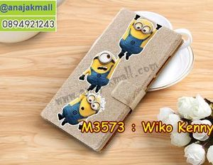 M3573-03 เคสฝาพับ Wiko Kenny ลาย Min VII