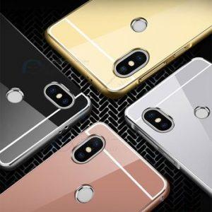 M3955 เคสอลูมิเนียม Xiaomi Redmi Note5 หลังเงากระจก (เลือกสี)