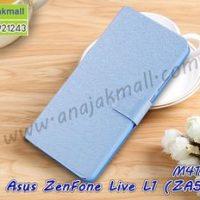 M4152-03 เคสฝาพับ Asus ZenFone Live L1-ZA550KL สีฟ้า