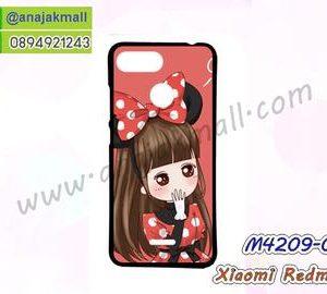 M4209-01 เคสยาง Xiaomi Redmi6 ลาย Nikibi