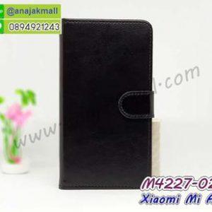 M4227-02 เคสฝาพับไดอารี่ Xiaomi Mi A2 สีดำ