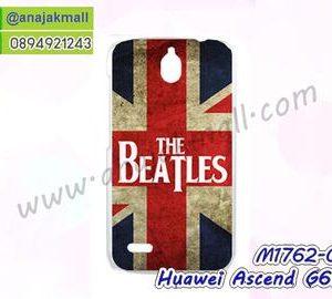 M1762-01 เคสแข็ง Huawei Ascend G610 ลาย The Beatles