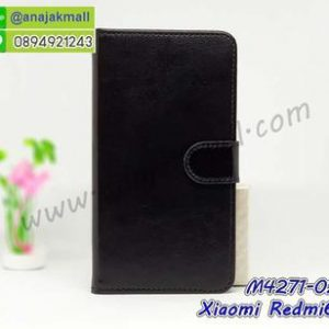 M4271-02 เคสฝาพับไดอารี่ Xiaomi Redmi6a สีดำ