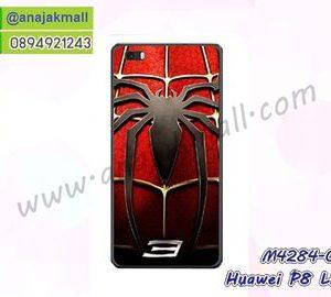 M4284-03 เคสยาง Huawei P8 Lite ลาย Spider