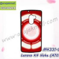 M4331-05 เคสแข็งดำ Lenovo K4 Note-A7010 ลาย Circle X01