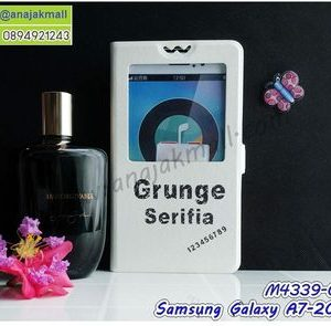 M4339-06 เคสโชว์เบอร์ Samsung Galaxy A7 (2017) ลาย Serifia