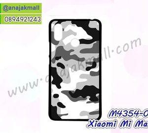 M4354-03 เคสยาง Xiaomi Mi Max3 ลาย พรางทหาร II