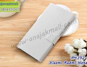 M4392-05 เคสฝาพับ Xiaomi Redmi Note4/Note4X สีขาว