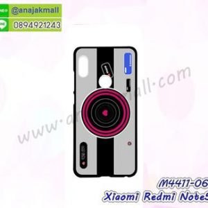 M4411-06 เคสแข็งดำ Xiaomi Redmi Note5 ลาย Grey Camera