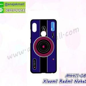 M4411-08 เคสแข็งดำ Xiaomi Redmi Note5 ลาย Blue Camera