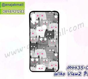 M4435-02 เคสยาง Wiko View2 Plus ลาย Cat Z01