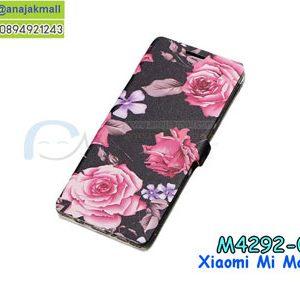 M4292-05 เคสฝาพับ Xiaomi Mi Max3 ลาย Love Rose