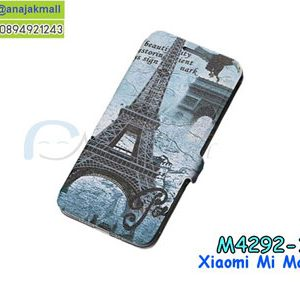 M4292-10 เคสฝาพับ Xiaomi Mi Max3 ลายหอไอเฟล T01