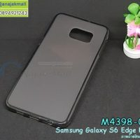 M4398-01 เคสยาง TPU นิ่ม Samsung Galaxy S6 Edge Plus สีเทา