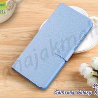 M4423-03 เคสหนังฝาพับ Samsung Galaxy A5 (2015) สีฟ้า