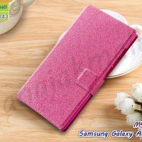 M4423-04 เคสหนังฝาพับ Samsung Galaxy A5 (2015) สีชมพู