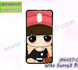 M4457-02 เคสยาง Wiko Sunny3 Plus ลายเปโกะจัง