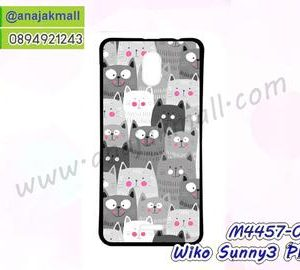 M4457-05 เคสยาง Wiko Sunny3 Plus ลาย Cat Z01