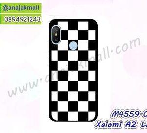 M4559-02 เคสยาง Xiaomi Mi A2 Lite ลาย Square X01