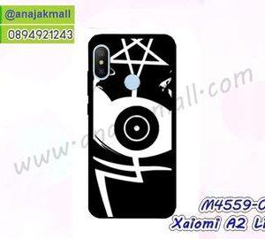 M4559-03 เคสยาง Xiaomi Mi A2 Lite ลาย Black Eye 02