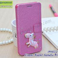 M4602-10 เคสฝาพับ Xiaomi Redmi Note5aPrime แต่งคริสตัลลาย Zebra III