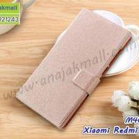 M4607-06 เคสฝาพับ Xiaomi Redmi Note5a สีชมพูเนื้อ