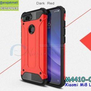 M4410-01 เคสกันกระแทก Xiaomi Mi8 Lite Armor สีแดง