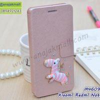 M4609-11 เคสฝาพับ Xiaomi Redmi Note5a แต่งคริสตัลลาย Zebra II