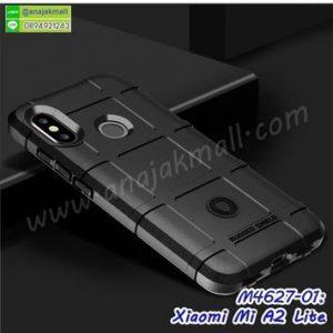 M4627-01 เคส Rugged กันกระแทก Xiaomi Mi A2 Lite สีดำ