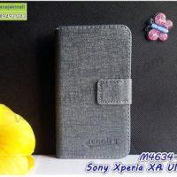 M4634-01 เคสฝาพับ Sony Xperia XA Ultra สีเทา