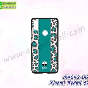M4642-06 เคสแข็งดำ Xiaomi Redmi S2 ลาย Ayia06