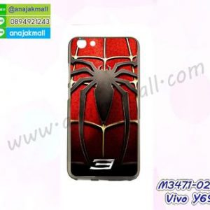 M3471-02 เคสยาง Vivo Y69 ลาย Spider