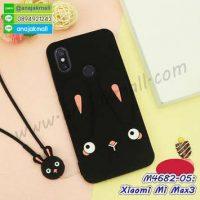 M4682-05 เคสตัวการ์ตูน Xiaomi Mi Max3 สีดำ