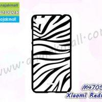 M4705-01 เคสแข็งดำ Xiaomi Redmi6a ลาย Zebra X11