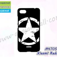 M4705-03 เคสแข็งดำ Xiaomi Redmi6a ลาย CapStar X22